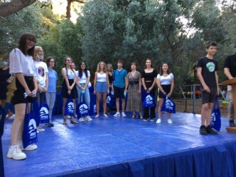 Cérémonie de remise des prix aux nombreuses mentions Très Bien du collège Roustan