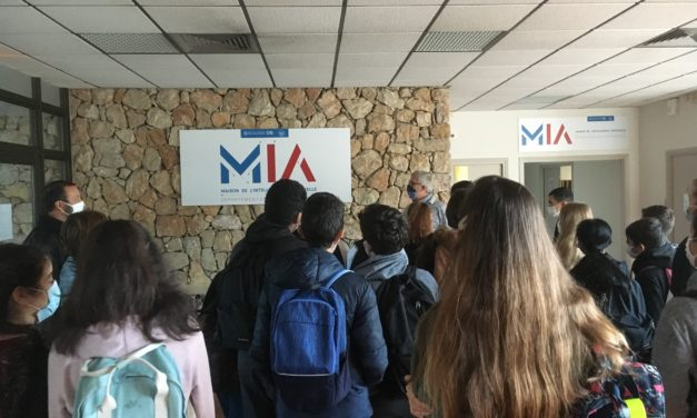 Visite de la Maison de l'Intelligence Artificielle à Sophia Antipolis