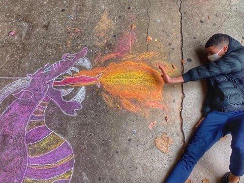 Projet #ArtsPlasgram artcraie par les élèves de 3èmes